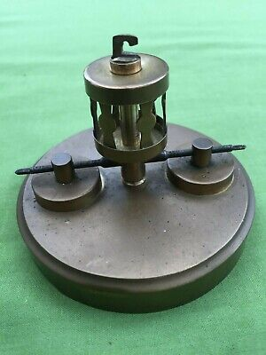 A 400 Day Torsion Clock Pendulum For  Spares Or Repair