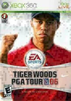 Tiger Woods Pga Tour 06 2006 - Xbox 360 - Very Good