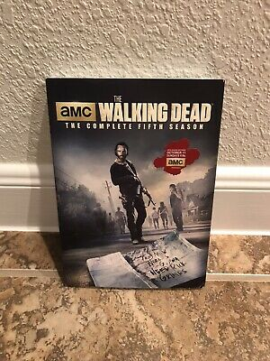 The Walking Dead: Season 5 (DVD, 2015, 5-Disc Set) Brand New Factory Sealed