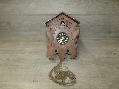 Vintage Cuckoo Clock Co Black Forest Clock Made in Germany As Is Parts Repair