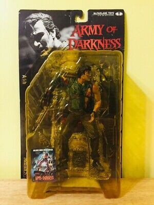 Army Of Darkness Ash Action Figure McFarlane Toys Movie Maniacs Horror 90's NEW!