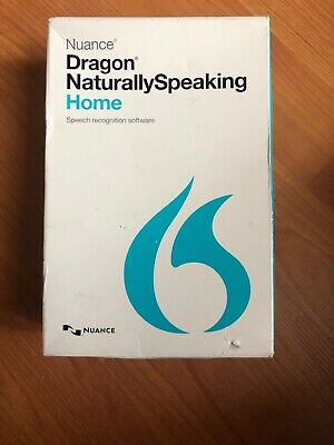 Nuance Dragon Naturally Speaking Home 13 Version 13.0 w/ Headset NEW OPEN BOX