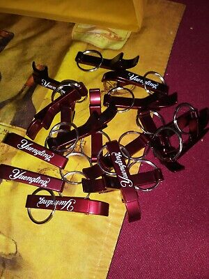 ViewmasterVixen lot of 18 Yuengling beer bottle openers keychains