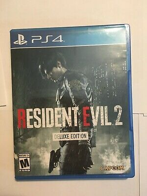 Resident Evil 2 Deluxe Edition PlayStation 4 2019