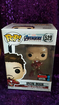 Funko Pop Avengers Endgame Iron Man Gauntlet #529 - NYCC 2019 Shared Exclusive