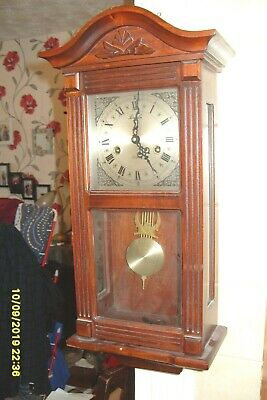 Lincoln 31 Days  Wall Clock Striking  Key And  Pendulum