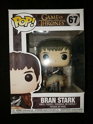 Funko Pop Game Of Thrones Bran Stark # 67 with protector