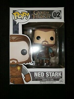 Funko Pop Game Of Thrones Ned Stark # 2 with protector