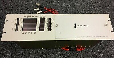 Inovonics 250 Stereo Broadcast Audio Processor - Fully Serviced - Read Below