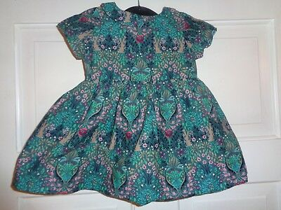 Next Girls Woodland Bunny Rabbit Dress - 0-3 Months