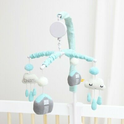 Brand New Baby Cot Musical Mobile - Unisex clouds