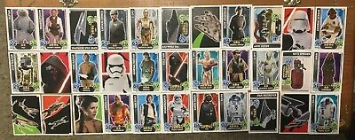 Lot 1 Topps Starwars Star Wars Force Attack Trading Cards - Pre Owned Condition
