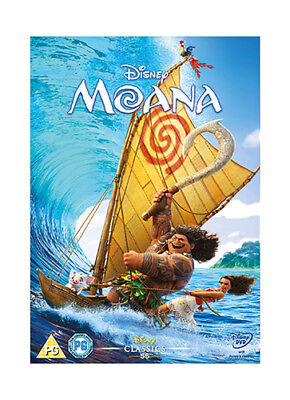 Moana (DVD, 2017) Brand New Free Shipping USA!