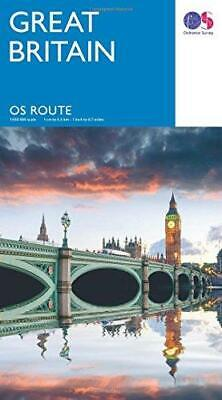 Route Map 2017, Sheet map, folded,  by Ordnance Survey
