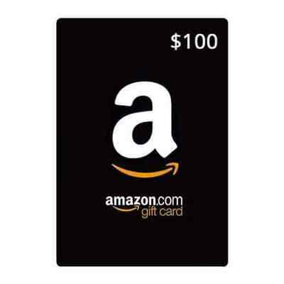 $100 Amazon Gift Card - Fast Delivery (US Seller)