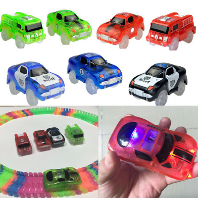 Magic Tracks Cars Replacement Universal Glow in The Dark Race Car Set Xmas Gift