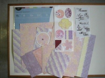 HERS PASTEL  Paper & Sticker Additions Pack by Creative Memories