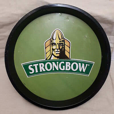 Strongbow metal beer tray.