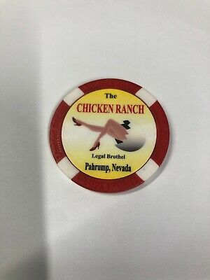 Brothel Chip - The Chicken Ranch Pahrump Nevada FREE SHIPPING