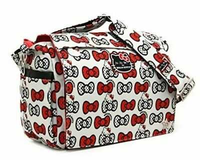 Ju-Ju-Be Hello Kitty Collection Better Be Messenger Diaper Bag, Peek A Bow