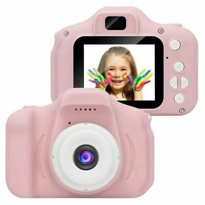 "Mini Kids Digital HD Camera 2.0"" LCD Camcorder Child Girl boy Birthday Gift Pink"