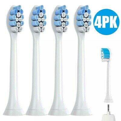 4* Toothbrush Head Sonic Replacement Brush Heads for Philips Sonicare HX9034 AU