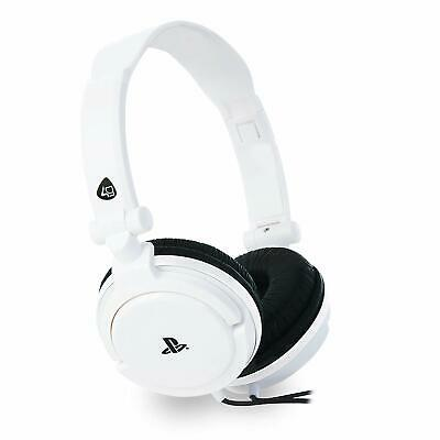 Sony PRO4-10 Officially Licensed Stereo Gaming Headset - White (ML3918)