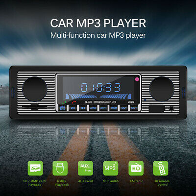 Auto Mp3 Bluetooth Player Drahtloser FM Transmitter Radio USB/SD Stereo AUX-IN