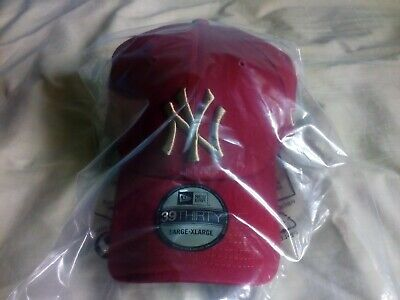 New York Yankees Essential Red 39Thirty L/Xl