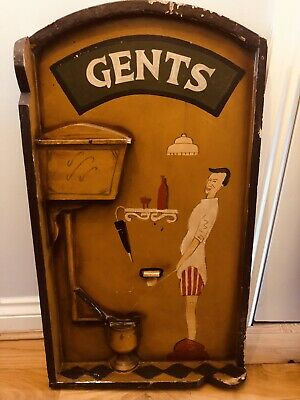 Set Of Antique Toilet Door Hangings
