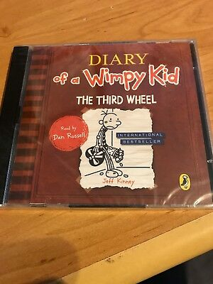 The Third Wheel (Diary of a Wimpy Kid book 7-2CD-Audio, 2012)-new/sealed