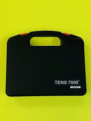 TENS 7000 2nd Edition Digital TENS Unit with Accessories New Open Box Free Ship