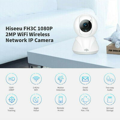 Hiseeu FH3C FHD 1080P Wireless IP Camera 2MP WiFi Night Vision Motion Detection