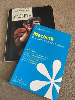 Macbeth (Oxford School Shakespeare), Shakespeare, With spark Notes