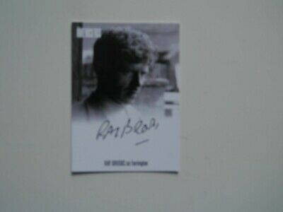 THE AVENGERS COMPLETE COLLECTION Autograph Card Ray Brooks AVRB2 (Black)