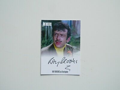 THE AVENGERS COMPLETE COLLECTION Autograph Card Ray Brooks AVRB1 (Black)