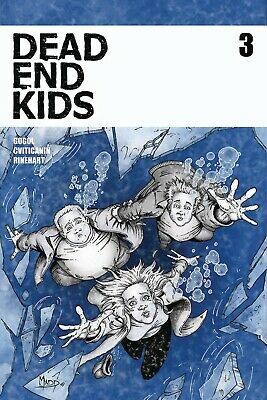 DEAD END KIDS #3 SOURCE POINT PRESS - Frank Gogo - small press horror NM+ 1st