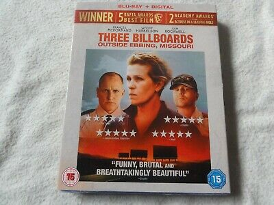 Three Billboards Outside Ebbing,Missouri Blu-Ray