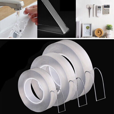 2mm Nano Magic Tape Gel Grip Traceless Removable Double-Sided Adhesive Invisible