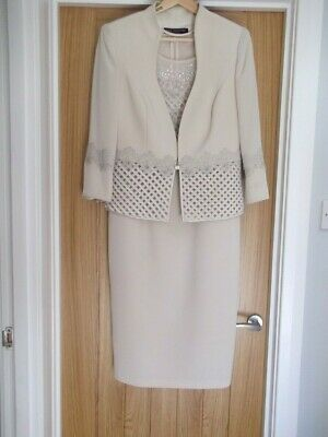 Mother of the Bride Veni Infantino Outfit -Size 10-  Includes Hat, Shoes and Bag