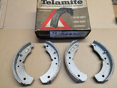 Standard 8 10 Pennant Companion FRONT brake shoes 7 inch x 1.25 inch ( Triumph )