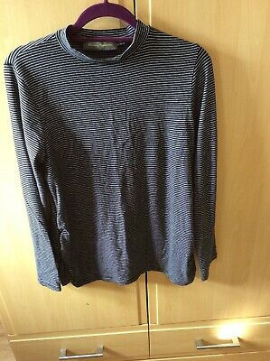 Mothercare Blooming Marvellous Long Sleeved Polo Maternity Top Large 16-18