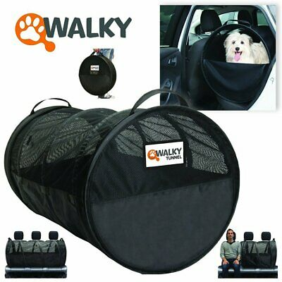Walky Tunnel Pet Tube,Car Kennel Crate,Automotive Pet Containment Soft Kennel