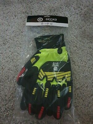 Gecko Top Protect Gloves (Pair) - Size 9 Large new
