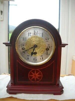 Beautiful Westminster Chimes Mantel Clock By Franz Hermle In G.w.o.