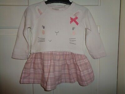 Next Girls Bunny Rabbit Tunic Dress & Leggings - 6-9 Months