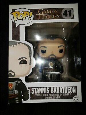 Funko Pop Game Of Thrones Stannis Baratheon # 41 with protector