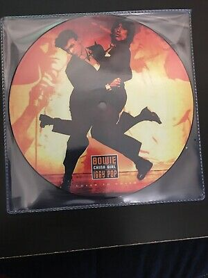 """DAVID BOWIE / IGGY POP - China Girl LTD 7 """" VINYL Picture Disc. Ready To Ship"""