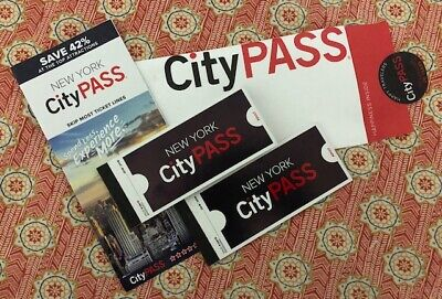 New York City Passes (Values - $264) One Day City Passes For (2) Adults