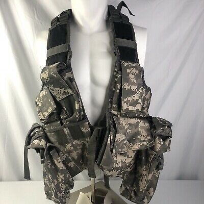 Military Camo Assault Ammo Tactical Backpack Load Bearing Vest
